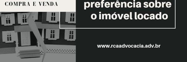 Compra e Venda: Direito de preferência sobre o imóvel locado