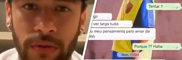 Neymar não cometeu crime ao compartilhar as fotos íntimas da mulher que o acusa de estupro