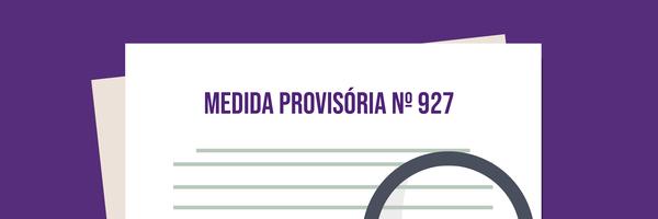 As alternativas oferecidas pela Medida Provisória nº 927