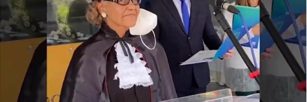 Idosa de 85 anos consegue título de bacharel em direito em Feira de Santana: 'Meu objetivo sempre foi ajudar alguém'