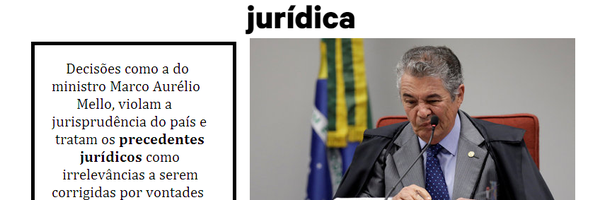 O Brasil e a leviandade jurisprudencial: o desprezo aos precedentes e à segurança jurídica