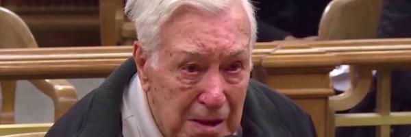 Em programa de TV, juiz perdoa homem de 96 anos que levava filho idoso ao médico