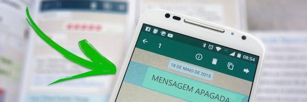 WhatsApp: como ler mensagens apagadas