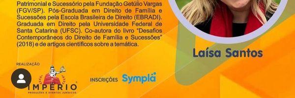 """Laísa Santos ministra palestra sobre """"Os impactos da pandemia no planejamento sucessório"""""""