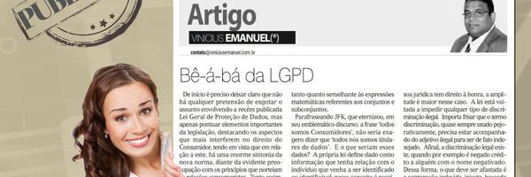 Bê-á-bá da LGPD