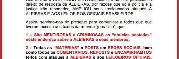 Aleibras condena reportagem sobre leiloeiros golpistas