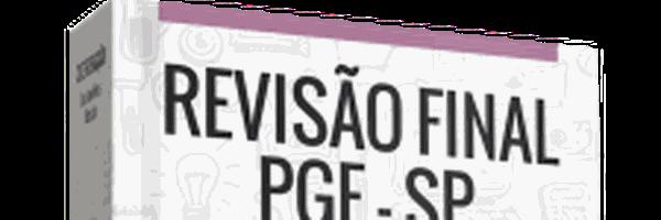 Lançamento: Revisão Final - Procuradoria Geral do Estado de São Paulo