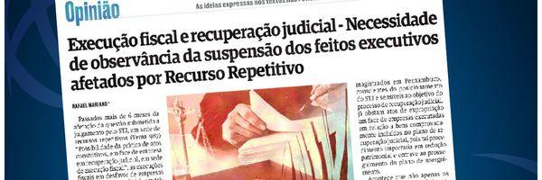 Execução fiscal e recuperação judicial. Recurso Repetitivo - Tema 987 STJ.