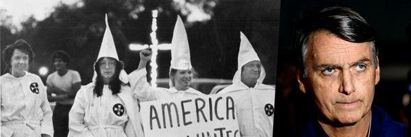 Ex-líder da Ku Klux Klan elogia Bolsonaro: ''Ele soa como nós''