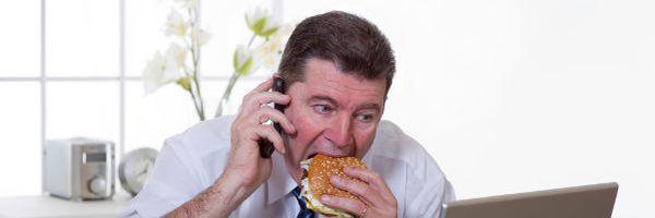 """""""Horário de almoço? Nunca vi, nem comi. Eu só ouço falar"""""""