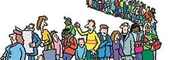 Danos morais por demora excessiva em fila de banco