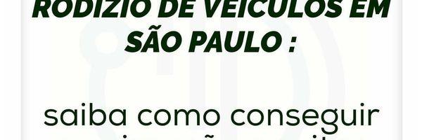 Rodízio de veículos em São Paulo