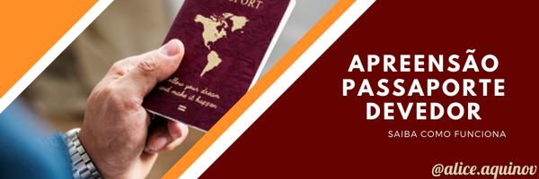 Apreensão de passaporte por dívida: saiba como funciona