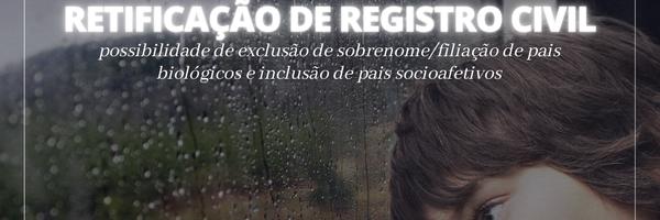 Retificação de Registro Civil