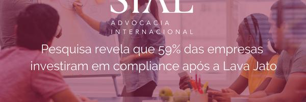 Pesquisa revela que 59% das empresas investiram em compliance após a Lava Jato