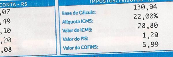 Orientação sobre a restituição do ICMS na conta de energia elétrica.