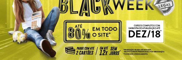 Última chance para você aproveitar a Black Week CERS!