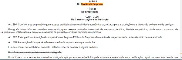Código Civil VII - Empresarial