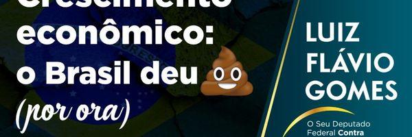 Crescimento econômico: o Brasil deu m**** (por ora)