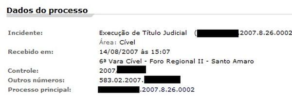 Como dar baixa em processos/antecedentes no Estado de São Paulo?