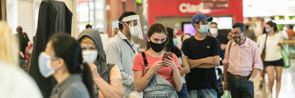 Redução de 50% do valor do aluguel de loja em shopping, até 31/12/2020, em razão da pandemia