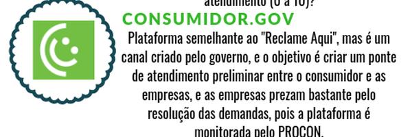 Plataformas que podem auxiliar o consumidor na resolução de suas demandas