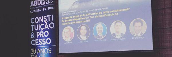 Advogado Bruno Fuga participa de congresso em Curitiba promovido pela ABDPro