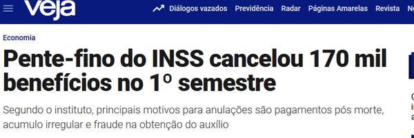 [Oportunidade] Defesa do Segurado no Pente Fino do INSS