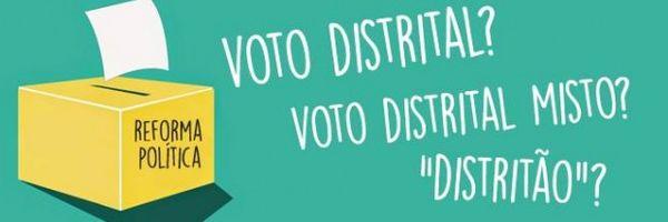 Golpe Parlamentar: Distritão e Voto Distrital Misto como burlas ao princípio Democrático e ao Sistema Representativo