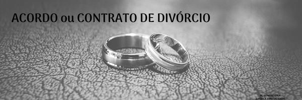 Divórcio através de Acordo ou Contrato