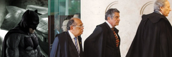 Por que os Ministros do STF usam capa como o Batman?