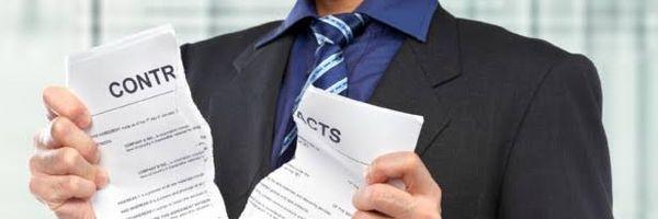 RESCISÃO DO CONTRATO de compra e venda de imóvel na planta e devolução das parcelas pagas.