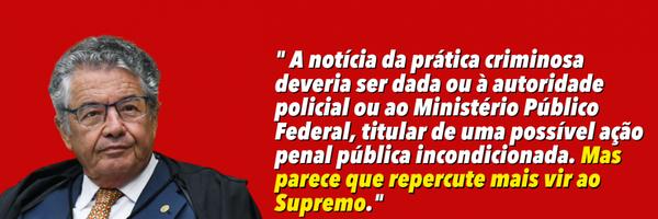 """Marco Aurélio arquiva notícia-crime contra Bolsonaro em caso das """"rachadinhas"""""""