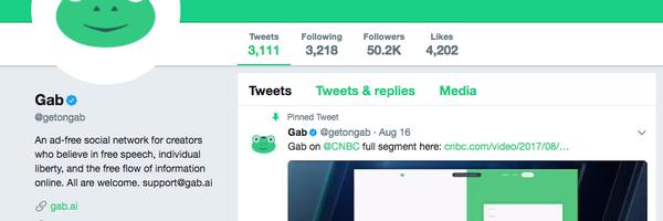 """""""Liberdade para ofender"""": Gab, rede social que disseminava ódio 'temporariamente' fora do ar"""