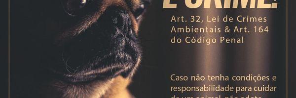 Tipificação dos crimes de Abandono e Maus-tratos a animais.