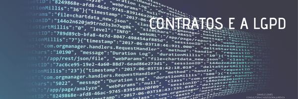 Como adaptar os Contratos à nova Lei Geral de Proteção de Dados