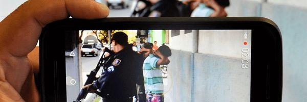 É permitido filmar uma ação policial?