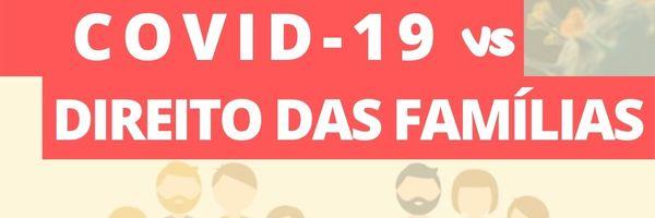 """COVID-19 e o Direito das Famílias: pensão, guarda e """"visitas""""."""