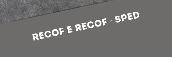 Recof e Recof - Sped