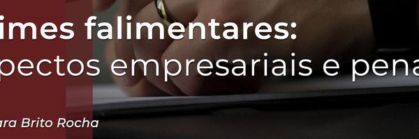 Crimes falimentares: aspectos empresariais e penais