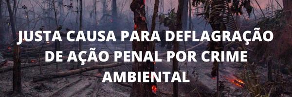A justa causa na ação penal por crimes ambientais