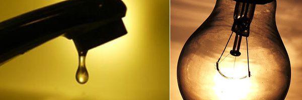 Interrupção/Suspensão/Corte de Energia Elétrica e Abastecimento de Água
