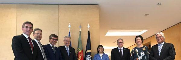 Presidente do CFC visita Portugal e ver que a prática do Contador é diferente do Brasil