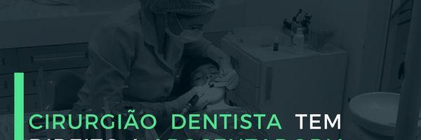 Cirurgião dentista tem direito a aposentadoria especial