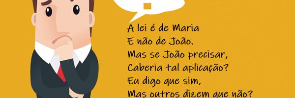 O homem e a lei de Maria - da Penha.