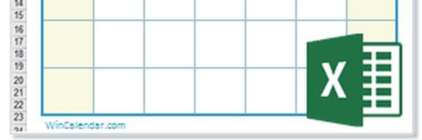 Calendário Perpétuo em Excel
