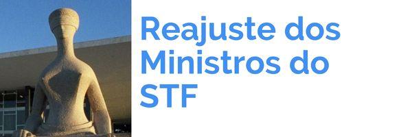 Reajuste dos Ministros do STF