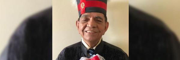 Esforço e dedicação: idoso de 82 anos se forma em Direito em Castanhal