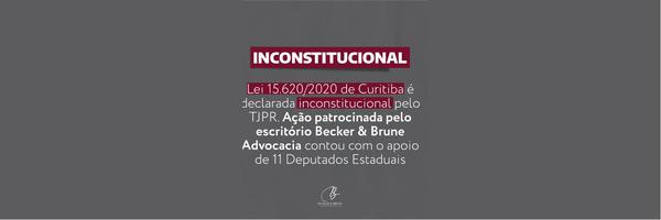 Sistema Funerário de Curitiba - Lei Municipal 15.620/2020 é declarada inconstitucional.