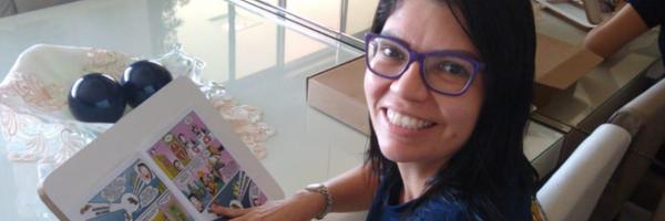 Professora de Direito lança revista em quadrinhos sobre a Constituição Federal